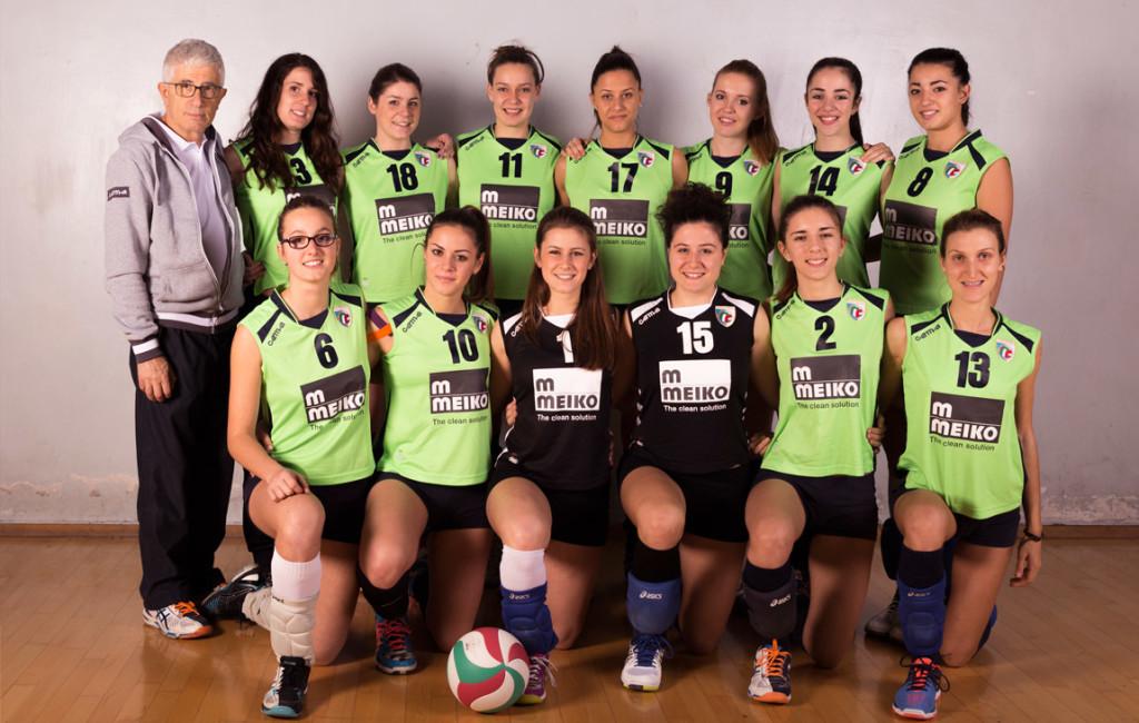 Serie D femminile - Pallavolo San Raffaele - Foto di squadra