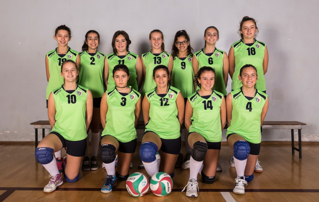 Under 13/14 femminile - Pallavolo San Raffaele - Foto di squadra