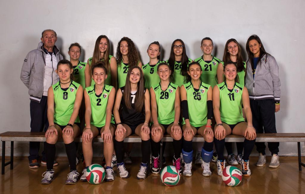 Under 16 femminile - Pallavolo San Raffaele - Foto di squadra