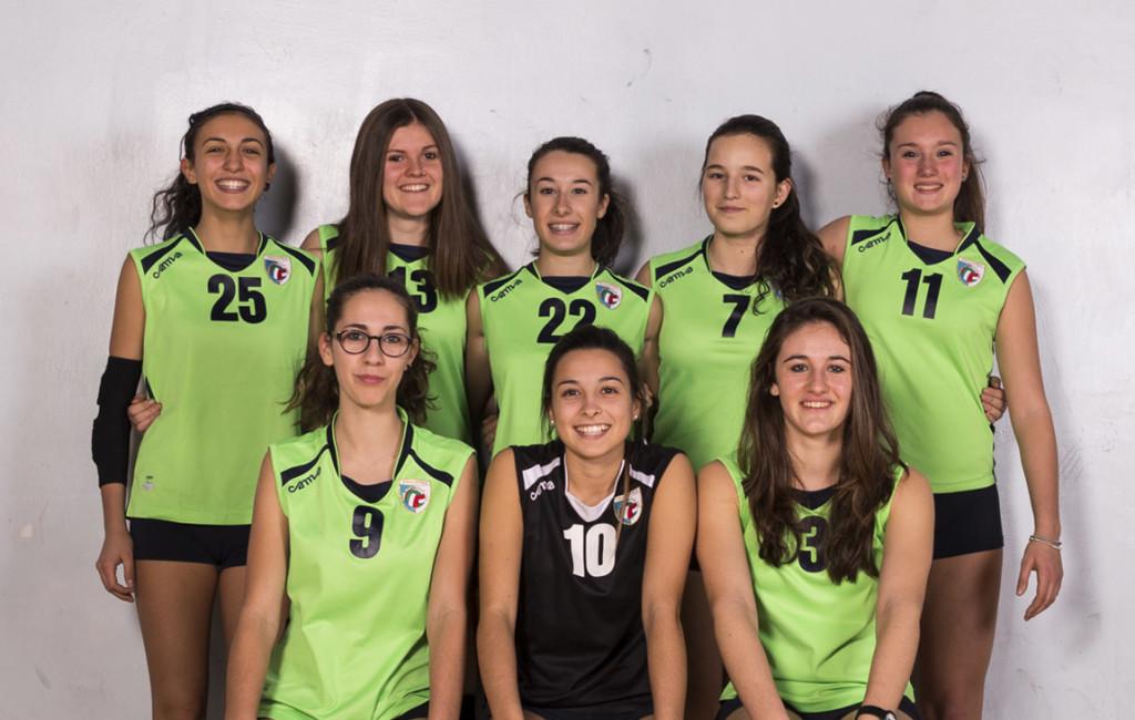 Under 18 femminile 2015 - Pallavolo San Raffaele