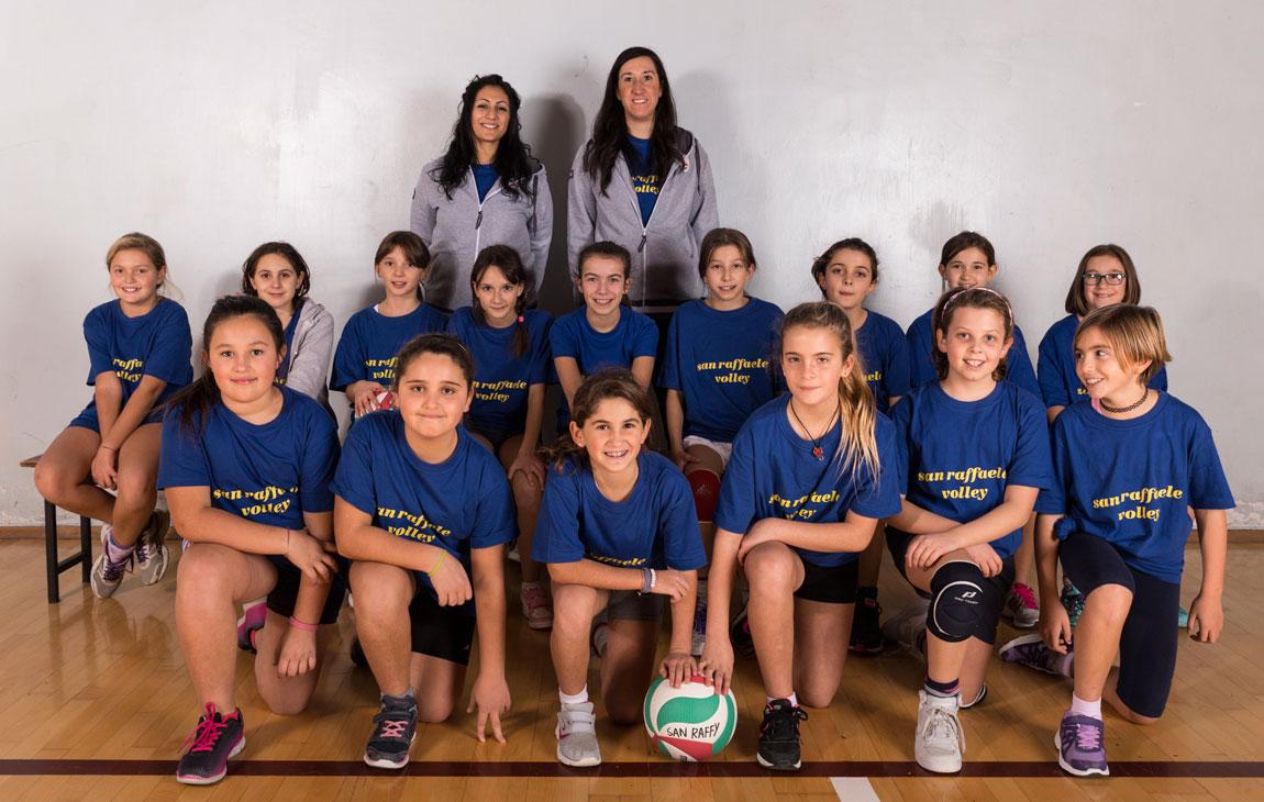 Under 12 femminile - Pallavolo San Raffaele - Foto di squadra